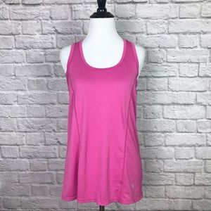 Head Pink Racerback Athletic Tank size Small